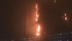 feu incendie Dubaï