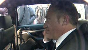 François-Henri Pinault bloqué dans une voiture par des salariés en colère (31 mars 2009)