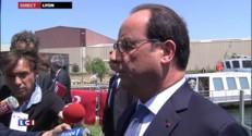 """François Hollande sur la Grèce : """"Je ne veux pas la dislocation de la zone euro"""""""
