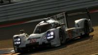 La Porsche 919 Hybrid de Bernhard/Hartley/Webber aux 6 Heures de Bahrain le 15 novembre 2014