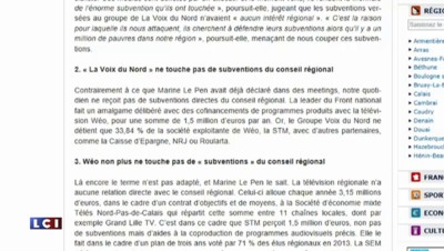 """La Voix du Nord s'inquiète d'une victoire du FN : sur Twitter, entre """"bravo"""" et """"collabos"""""""