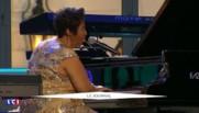 """Les Obama accueillent une soirée jazz à la """"Blues House"""""""