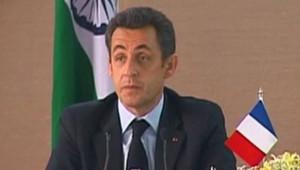 Sarkozy en Inde