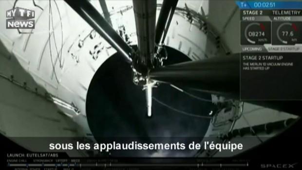 SpaceX rate l'atterrissage de sa fusée : les images du crash