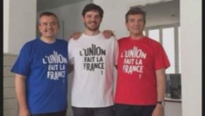 Arnaud Montebourg porte un t-shirt made in France.