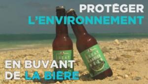 Bière enviroonement australie grande barrière de corail