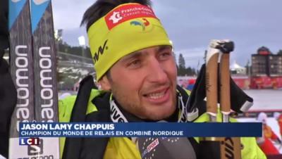 Combiné nordique : Jason Lamy Chappuis annonce qu'il arrête sa carrière en fin de saison