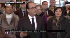 """François Hollande veut """"être présent partout"""""""