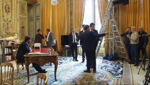 Le 20 heures du 30 décembre 2014 : Voeux de François Hollande : découvrez les coulisses de l'Elysée - 928.346
