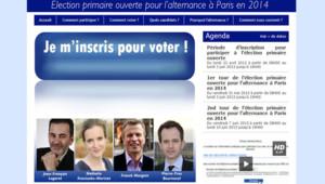 Les électeurs parisiens, qu'ils soient ou non encartés à l'UMP, ont jusqu'à lundi soir pour s'inscrire sur le site de la primaire.