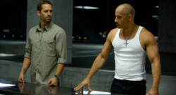 Paul Walker et Vin Diesel dans Fast and Furious 6