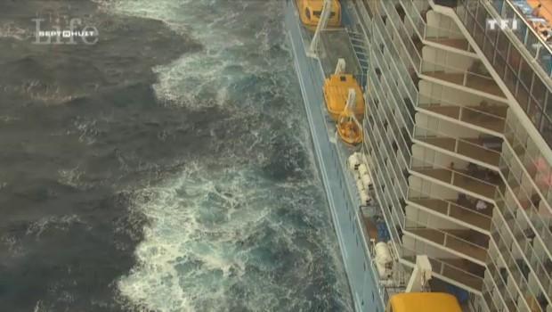 Sur le paquebot Anthem of the seas, une attraction à 90 mètres au-dessus de la mer