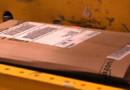 Un colis envoyé par Amazon.