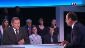 """Hollande sur TF1 : Valls """"applique la politique que j'ai moi-même fixée pour la nation"""""""