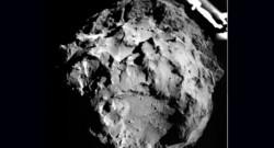 La comète Tchouri photographiée par Philae