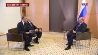 Le 20 heures du 4 juin 2014 : L'int�alit�e l'interview de Vladimir Poutine - 687.1006605529785