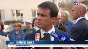 """Le 20 heures du 4 septembre 2014 : Manuel Valls juge que le livre de Val�e Trierweiler """"abaisse le d�t publique"""" - 882.85"""