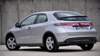 Photo 5 : Essai Honda Civic 1.4 i-VTEC restylée : Bien dans son époque