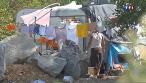 Campement de roms évacué à Lyon
