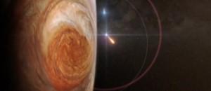 Mission à haut risque pour la sonde Juno, mise en orbite autour de Jupiter