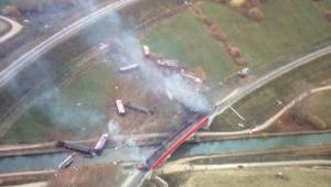 Un TGV déraille en Alsace, au moins 7 morts