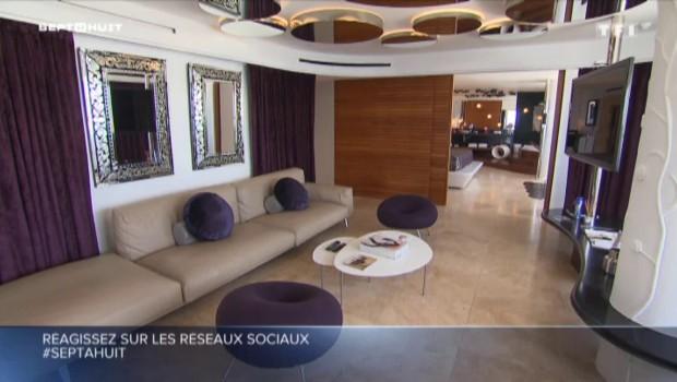 166 m², jacuzzi, vins grands crus, la suite à 10.000 euros à Ibiza