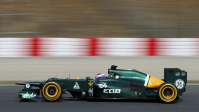 Caterham Petrov Tests F1 Barcelone F1 2012 02