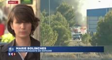 """Crash d'un F-16 en Espagne : l'appareil est tombé """"au pire endroit de la base"""""""