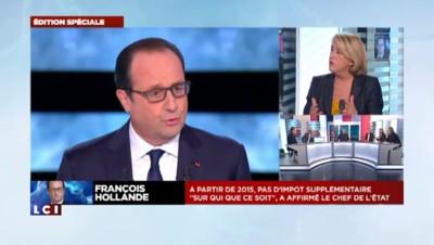"""François Hollande sur TF1 : """"Une émission réussie"""", selon Chabot"""