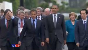 G8 : une dernière journée consacrée aux révolutions arabes