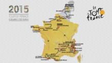 Tracé du Tour de France