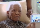 Nelson Mandela, hospitalisé.