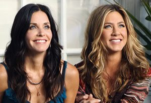 Cougar Town - Courteney Cox, Jennifer Aniston. Une série créée par Bill Lawrence et Kevin Biegel en 2009.