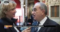 """Coupe Davis : """"Il y a une chance incroyable de remporter ce saladier"""", selon Jean Gachassin"""