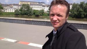Franck Perrais, père biologique de Laetitia, au moment du procès de Tony Meilhon, meurtrier présumé de sa fille, le 22 mai 2013