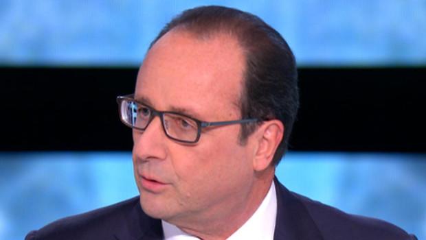 François Hollande dans En direct avec les Français