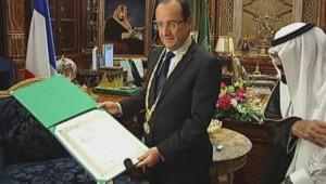 François Hollande en Arabie Saoudite en novembre 2012.