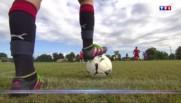 Malgré l'échec, les footballeurs en herbe voient la vie en Bleus