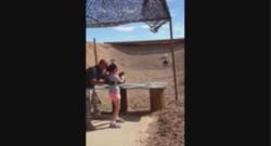 Une fillette a accidentellement tué son instructeur de tir aux Etats-Unis, le 25 août.