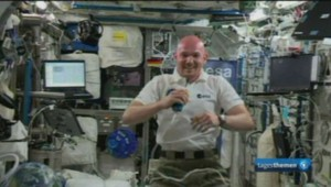 Alexander Gerst, astronaute allemand de la Station spatiale internationale.