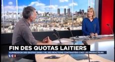 """Fin des quotas laitiers : """"Ce qui nous importe, c'est sauver les producteurs"""""""