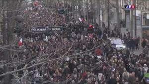 Le 20 heures du 11 janvier 2015 : Marche républicaine: - 4346.188821166992