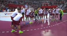 Le 20 heures du 31 janvier 2015 : Mondial de handball : qui sont les joueurs de l%u2019équipe du Qatar ? - 420.08