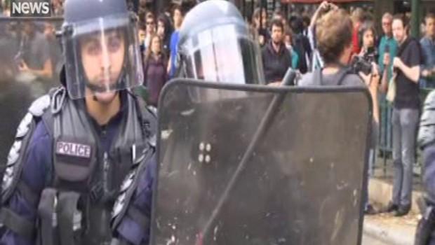 Loi Travail : une manifestation à Paris sous tension