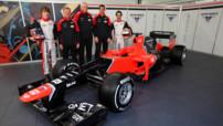 Marussia MR01 F1 2012 Glock Pic