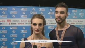 Patinage Papadakis et Cizeron Champion du monde