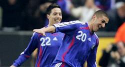 Première sélection et premier but pour Karim Benzema qui donne la victoire à l'équipe de France face à l'Autriche (mars 2007)