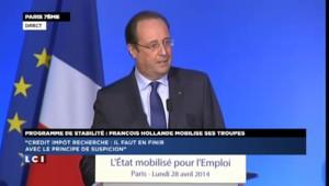 """Rachat d'Alstom : """"L'Etat a forcément son mot à dire"""" selon Hollande"""