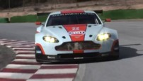 L'Aston Martin V8 Vantage GTE des 24h du Mans et WEC 2012