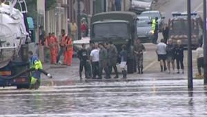 TF1/LCI Des centaines de personnes ont dû abandonner leur maison à Guiscard
